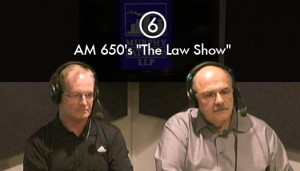 Joe Murphy, Q.C. and Joe Battista, Q.C. discuss personal injury law on The Law Show