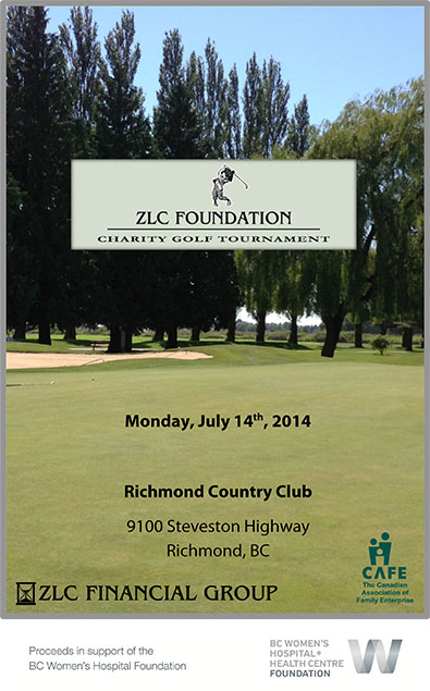 ZLC Foundation Charity Golf Tournament