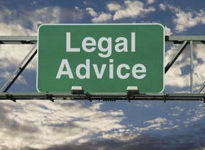 Legal Advice Sign