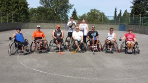 Canada's Wheelchair Floorball Team 2015