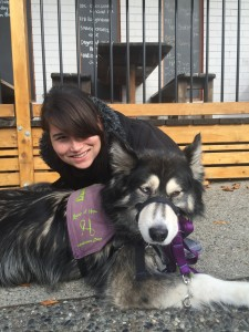 Assistance Dog Sierra + Kristina