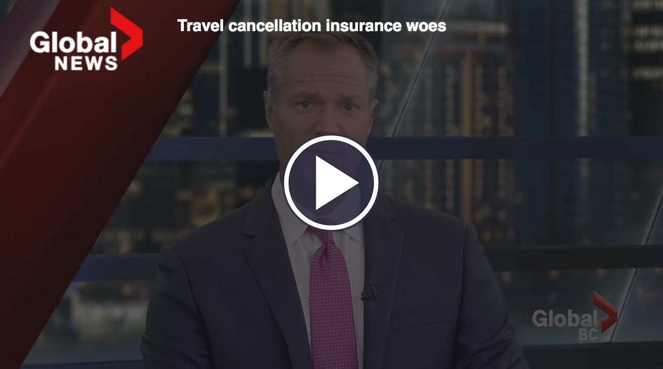 Travel cancellation insurance woes