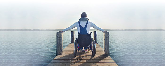 wheelchair pier