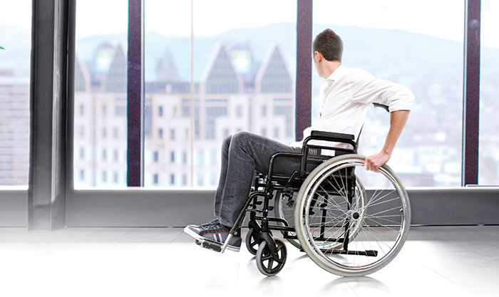 wheelchair windows
