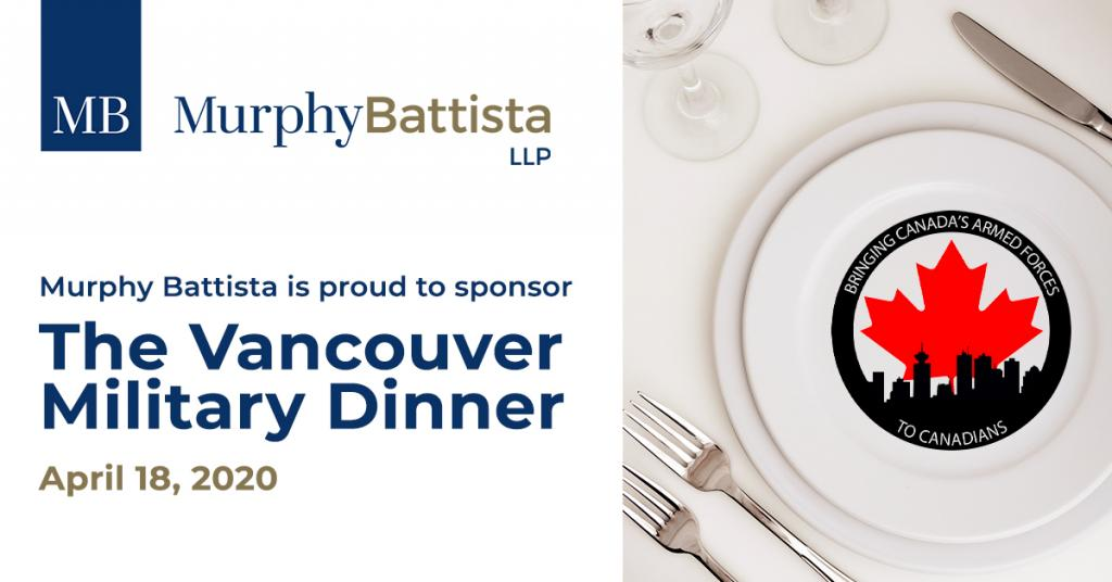 Vancouver Military Dinner
